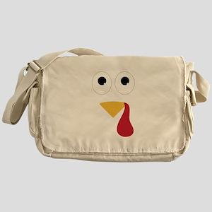 Turkey Face Messenger Bag