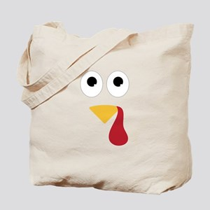 Turkey Face Tote Bag