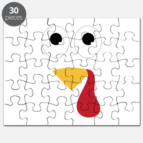 Turkey Face Puzzle
