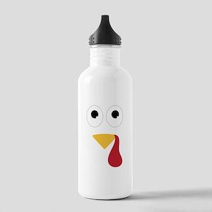 Turkey Face Water Bottle