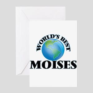 World's Best Moises Greeting Cards