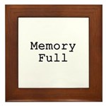 Memory Full Framed Tile
