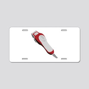 Hair Clipper Aluminum License Plate