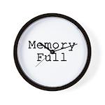 Memory Full Wall Clock