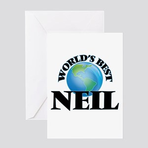 World's Best Neil Greeting Cards