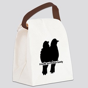 Friends are Chosen Family Quote Cute Bird Silhouet