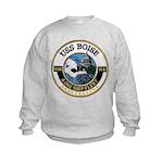 USS BOISE Kids Sweatshirt