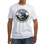 USS BOISE Fitted T-Shirt