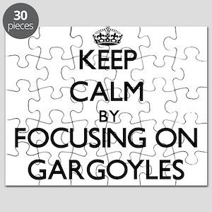 Keep Calm by focusing on Gargoyles Puzzle