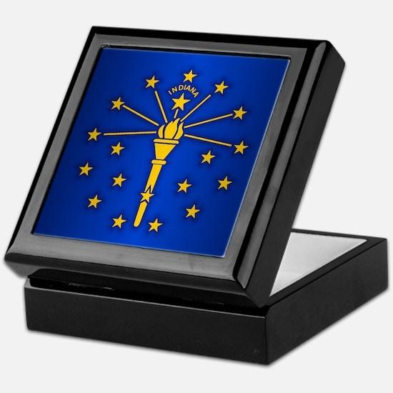 Indiana (v15b) Keepsake Box