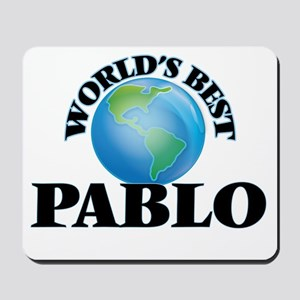 World's Best Pablo Mousepad