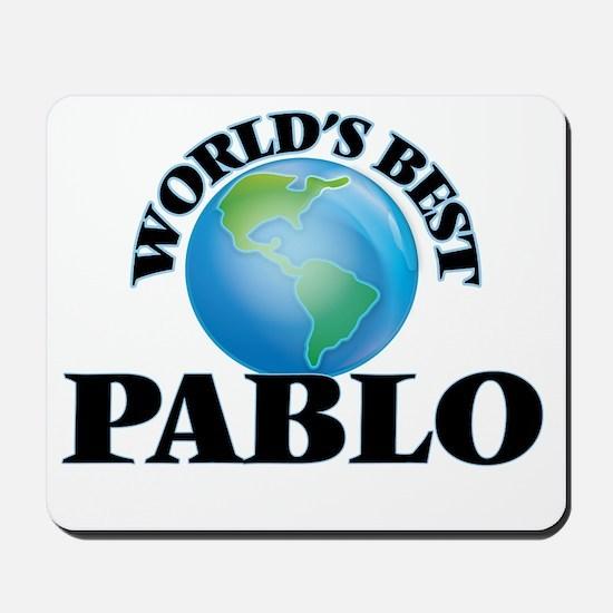 World's Best Pablo Mousepad