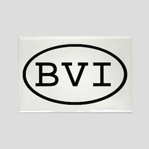 BVI Oval Rectangle Magnet