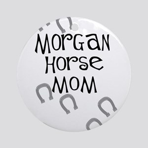 Morgan Horse Mom Ornament (Round)