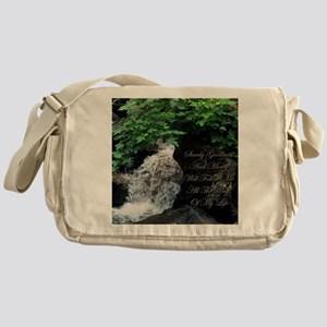 Surely Goodness & Mercy Messenger Bag