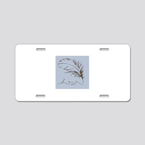 Quill Aluminum License Plate