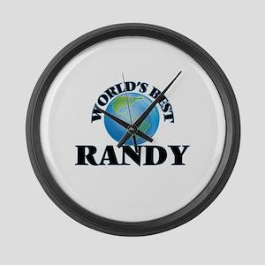World's Best Randy Large Wall Clock