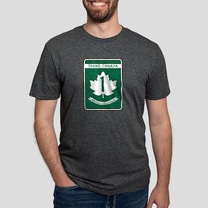 Trans-Canada Highway, British Columbia T-Shirt