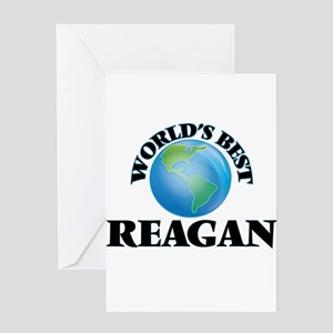 World's Best Reagan Greeting Cards