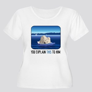 Arctic Polar Women's Plus Size Scoop Neck T-Shirt