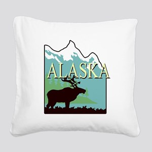 Alaska Square Canvas Pillow