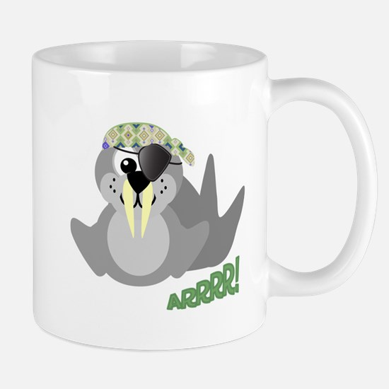 Goofkins Walrus Pirate Mug