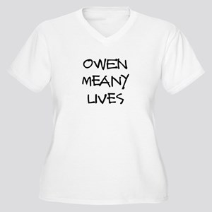 Owen lives! Women's Plus Size V-Neck T-Shirt