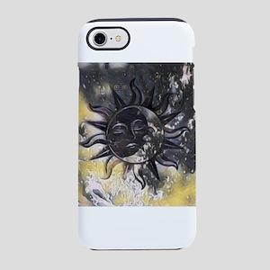 Sleepy Sun Moon iPhone 7 Tough Case