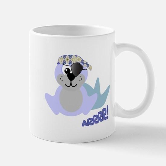 Goofkins Baby Seal Pirate Mug