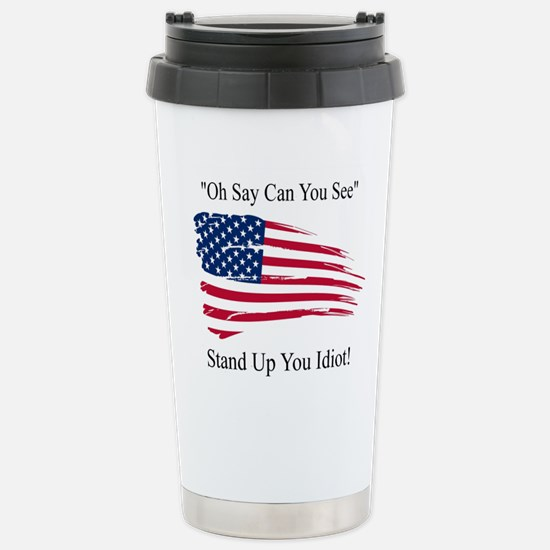 Oh Say Can You Se Travel Mug