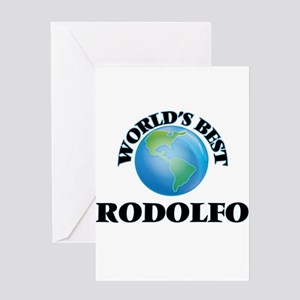 World's Best Rodolfo Greeting Cards