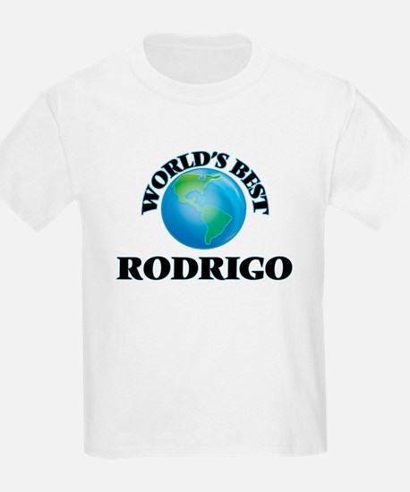 World's Best Rodrigo T-Shirt