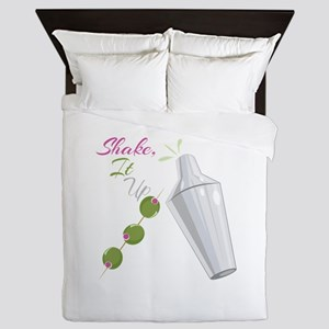 Shake To Up Queen Duvet