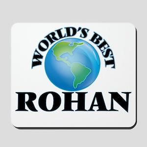 World's Best Rohan Mousepad