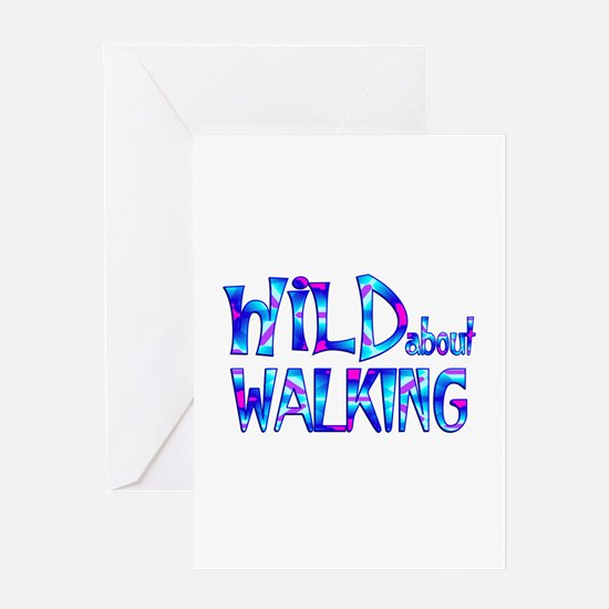 Wild About Walking Greeting Cards