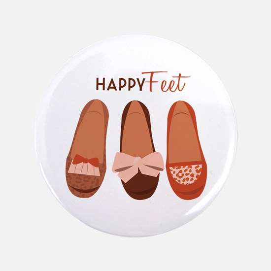 "Happy Feet 3.5"" Button"