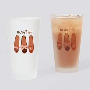 Happy Feet Drinking Glass