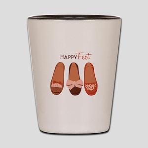 Happy Feet Shot Glass