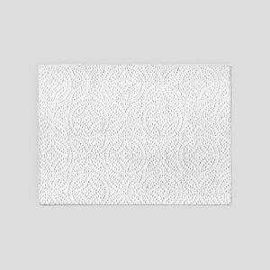Paper Towel 5'x7'area Rug