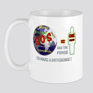 Earth Day SOS, Mug