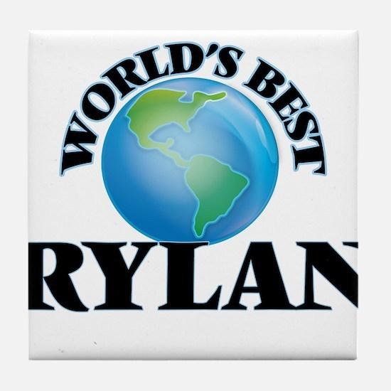 World's Best Rylan Tile Coaster