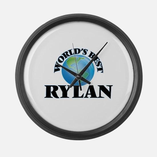 World's Best Rylan Large Wall Clock