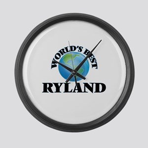 World's Best Ryland Large Wall Clock