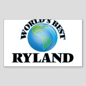 World's Best Ryland Sticker