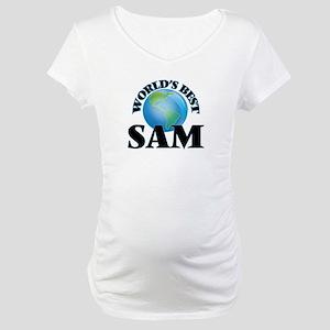 World's Best Sam Maternity T-Shirt