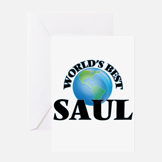 World's Best Saul Greeting Cards