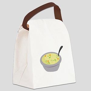 Soupy Treat! Canvas Lunch Bag