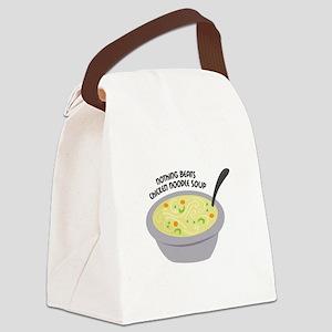 Chicken Noodles Soup Canvas Lunch Bag