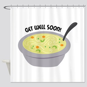 Get Well Soon Shower Curtain