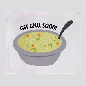 Get Well Soon Throw Blanket